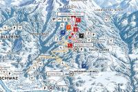 Kellerjochbahn - Schwaz - Pill Mappa piste