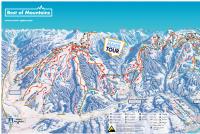 Flachau - Snow Space Salzburg Mapa tras