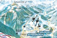 Goldegg Piste Map