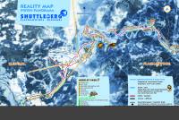 Shuttleberg Flachauwinkl - Kleinarl Pistenplan
