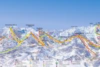 Hochkönig Trail Map