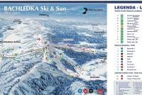 Bachledka Ski&Sun Løypekart