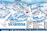 Fačkovské sedlo Mappa piste