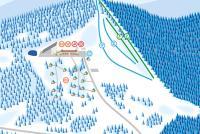 Látky - Prašivá Trail Map