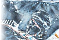 Liptovský Ján - Ski Javorovica Mapa tras
