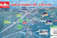 Skalka arena Trail Map