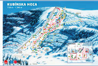 SKI PARK Kubínska Trail Map