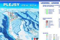 Plejsy Piste Map