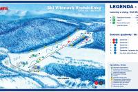 Ski Vitanová Trail Map