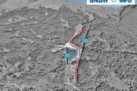 Turecká - Krížna Trail Map