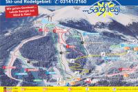 Salzstiegl Mapa sjezdovek