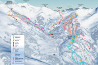 Sauze Super Sauze Piste Map