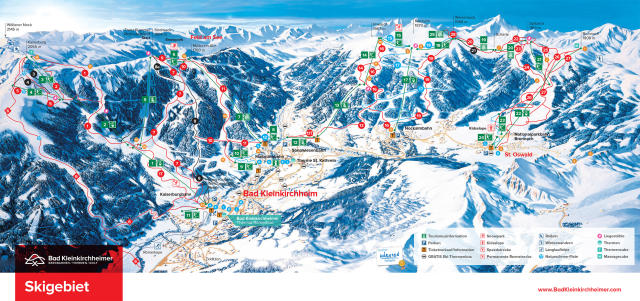Bad Kleinkirchheim Trail Map