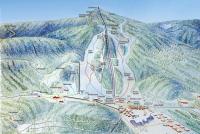 Valfjället Skicenter Pistekaart