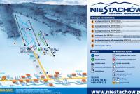 Kielce - Niestachów Mappa piste