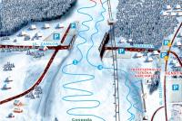 Krynica - Henryk Ski Trail Map