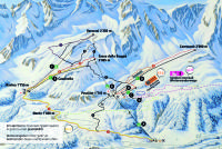 Airolo Piste Map