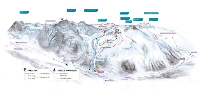 Arolla Trail Map