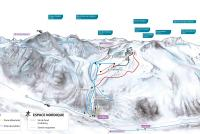 Arolla Piste Map
