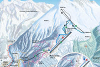 Rosswald - Brig Trail Map