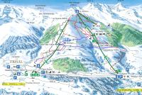 Brigels - Breil Piste Map