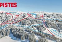 Bugnenets - Savagnières Trail Map