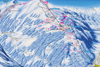 Chur Trail Map