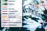 Ebenalp - Appenzellerland Mappa piste