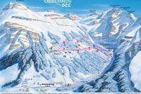 Kandersteg - Sunnbüel - Oeschinen Pistenplan