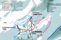 La Robella Trail Map