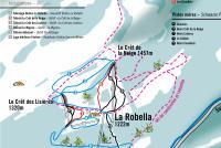La Robella Piste Map