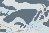 Le Brassus Mappa piste