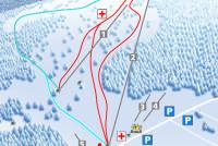 Les Prés d'Orvin Trail Map
