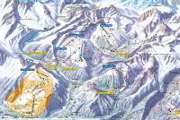 Vichères - Liddes Mappa piste