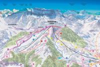 Marbach - Marbachegg Mapa sjezdovek