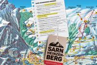 Sarn - Heinzenberg Trail Map