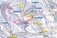 Sattel - Hochstuckli Plan des pistes