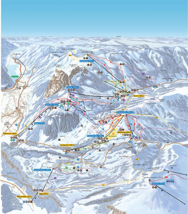 Mythenregion Plan des pistes