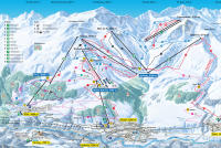 Scuol Trail Map