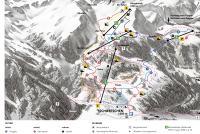 Tschiertschen Mappa piste