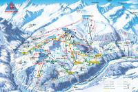 Obersaxen - Val Lumnezia Trail Map