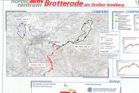 Brotterode Mapa zjazdoviek