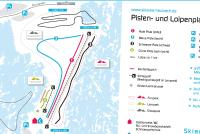 Masserberg - Fehrenbach - Heubach Piste Map