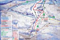 Skiarena Silbersattel Steinach Pistenplan