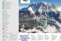 Ehrwalder Wettersteinbahnen Pistenplan