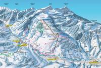 Krummenau - Wolzenalp/Toggenburg Mappa piste
