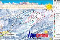 Cavalese - Alpe Cermis Trail Map