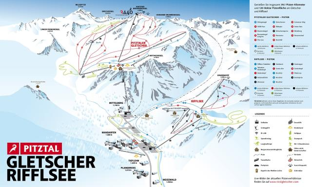 Rifflsee - Pitztal Trail Map