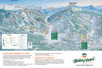 Brian Head Resort Plan des pistes