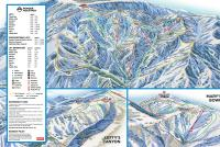 Powder Mountain Mappa piste